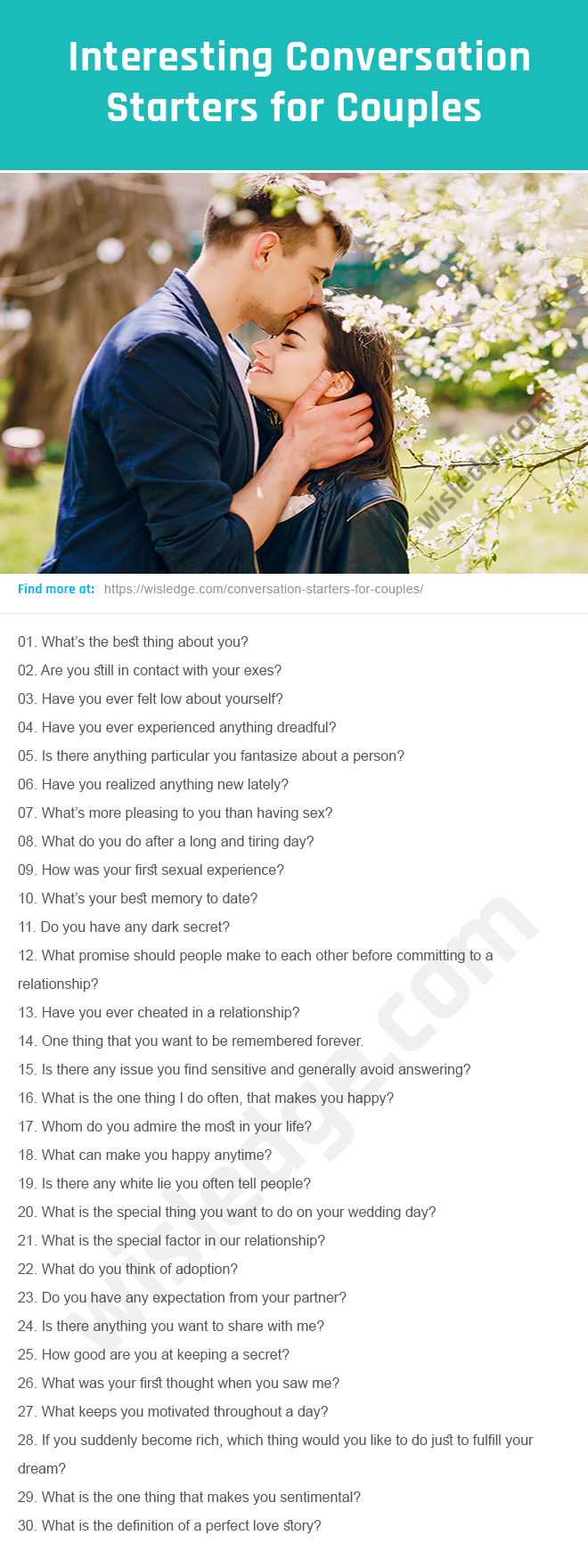 how to have interesting conversations with your boyfriend