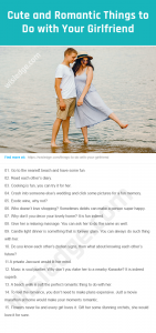 Things to Do with Your Girlfriend Image