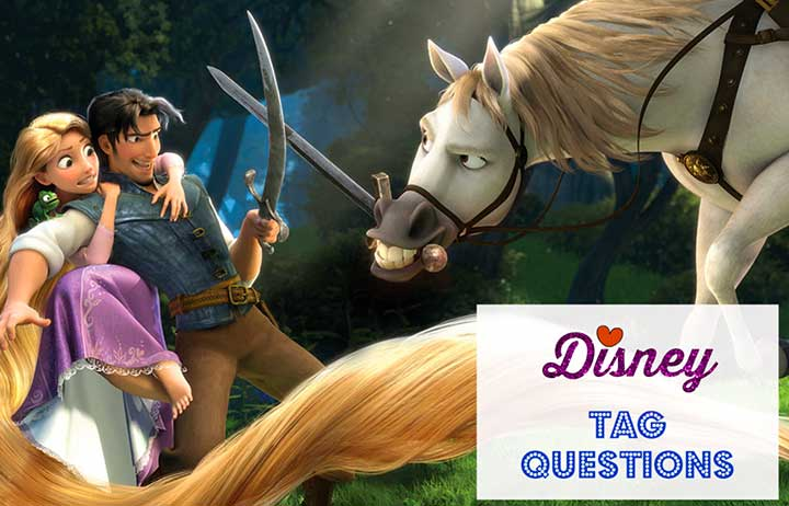 Disney Tag Questions