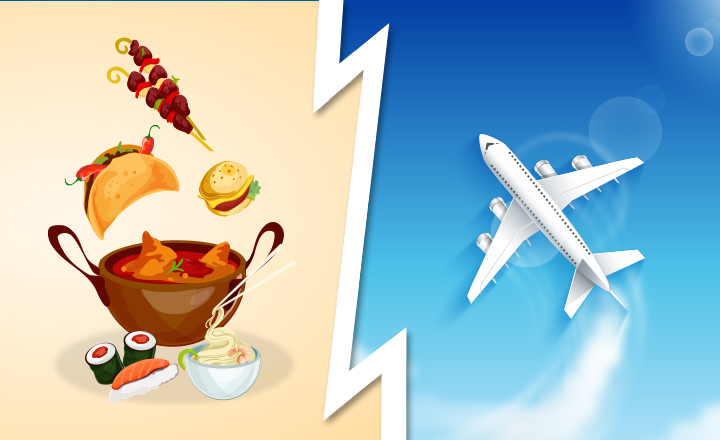 Would You Rather - Unlimited Food vs Unlimited Flight Ticket