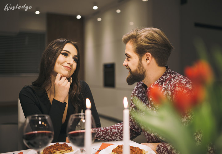 Offer a romantic dinner or plan a surprising date before proposing her