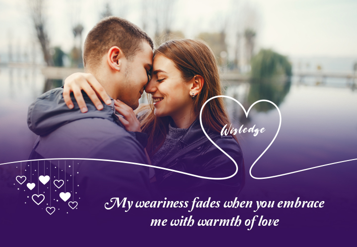 Passionate love quotes to beloved with comfort