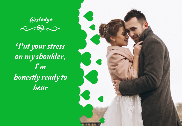 Supporting love quotes for her to zeal up
