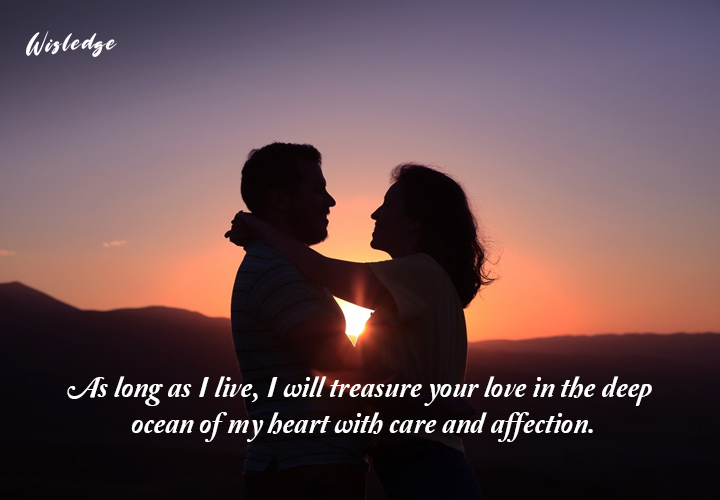 evergreen love messages for wife