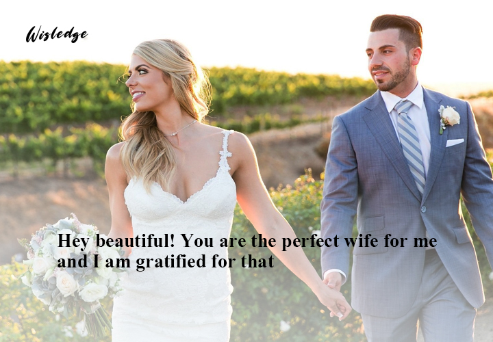 complimenting love messages for wife